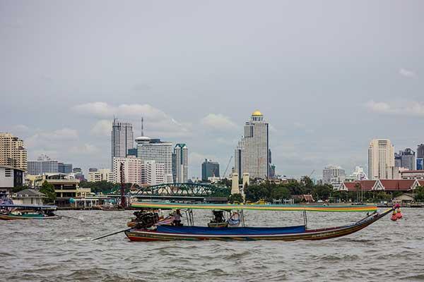 Food on our Bangkok day tour